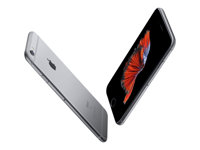 "Apple iPhone 6s Plus - Smartphone - 4G LTE Advanced - 32 GB - CDMA / GSM - 5.5"" - 1920 x 1080 pixels (401 ppi) - Retina HD - 12 MP (5-MP frontkamera) - romgrå MN2V2QN/A"