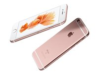"Apple iPhone 6s - Smartphone - 4G LTE Advanced - 128 GB - TD-SCDMA / UMTS / GSM - 4.7"" - 1334 x 750 piksler (326 ppi) - Retina HD - 12 MP (5-MP frontkamera) - rosagull MKQW2QN/A"